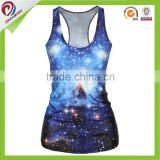 sublimated T back women sexy sport top racer back sports tank top                                                                         Quality Choice