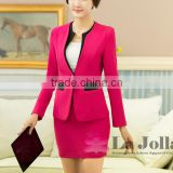 Custom Order!!! 2016 new style lady two-piece suit office uniform designs for womans s career dress