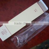 different colour and style various hotel combs /corn starch material made hotel disposable hair comb
