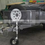 steel checker plate off road camper trailer and tent trailer