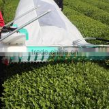 two men operated OCHIAI type tea harvester , tea leaf picker , tea leaf plucking machine HORIZONTAL 1200mm