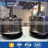Round stainless steel water well screen