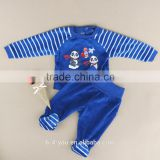 Cute Baby Girls Boys 2 Pieces Kids Children Suits Outfits Sets Chileren's Clothes Pajama