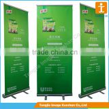 Pull up rotating banner stand, roll up stand