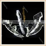 Modern Crystal Chandelier Home Lighting lustres de cristal Decoration Pendants Living Room Indoor Lamp
