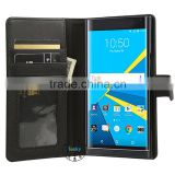 for blackberry priv case wholesale, factory stand cover wallet leather phone case for blackberry priv