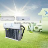 Vacuum Tube Cooling and Heating Solar Air Conditioner, Solar Air Conditioning, Solar Air Conditioner System without Batteries