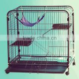 folding metal cat cage