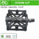 CE cheapest BMX parts ball bearing diecasting magnesium bicycle cruiser bike pedal and tricycle parts pedal