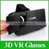 "Hot Google Cardboard VR 3D Glasses Colorcross Universal Virtual Reality 3D Video Glasses Oculus Rift DK2 For 4~6"" Smartphones"