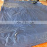 plastic mesh fabric tarpaulin PP blue/sliver rope waterproof antioxidant anti-aging factory directly hot sell good quality