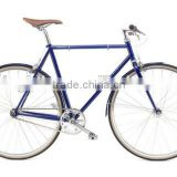 Classic men's city bike single speed city bike steel frame fixie bike for city road                                                                         Quality Choice