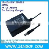 GFP151DA-120125-1 12V1.25A nom Mexico safety approved switching power supply,battery charger,ac /dc adapter