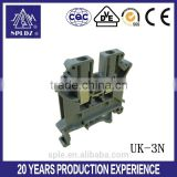 UK din rail audio terminal block UK-3N