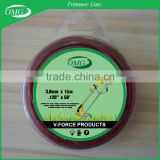 Brush Cutter Spare Parts .120'' * 50ft Trimmer Line Nylon Mowing Rope for Brush Cutter