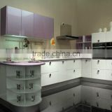 Customized Modular particle board kitchen cabinet manufacturer