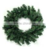 Factory manufacture artificial Christmas door wreaths artificial grass wreath wholesale