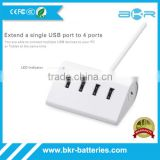 2016 hot sales usb hub with cradle new 4 ports high speed usb 3.0 otg usb hub wholesale                                                                                                         Supplier's Choice