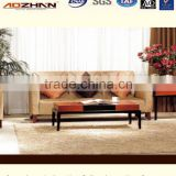 Modern rexine furniture simple style super living room furniture fabric sofa