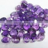 5*5mm natural round gemstones amethyst
