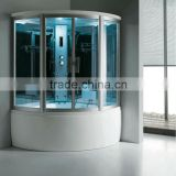 FC-102 wet indoor steam room with tray shower enclosure outdoor steam room abs tray new model shower cabin outdoor steam room