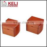 piano brown lacquer finish luxury wooden watch box