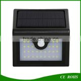 New Arrival 28LED High Lumen Security Solar LED Wall Mounted Light surface mounted outdoor led wall light