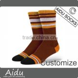 Bulk Wholesale Seamless Toe Clouds Print Athlete Basketball Socks                                                                                                         Supplier's Choice