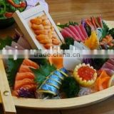 Sushi Bamboo boat for putting Sushi