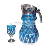 glassware set with 1jug and 6cups high quality water set