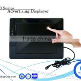 10 inch lcd Shelf Advertising Displayer display flight information display system lcd in store display screen