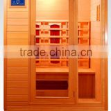 3 person far infrared portable sauna canada hemlock ceramic heaters