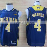 Stan Caleb Blue Custom High School Basketball Jersey Uniform
