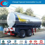 Direct factory light weight 40CBM fuel gasoline diesel crude oil or chemical liquid tank semi truck trailer