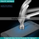 Newest cutting technology nano liquid screen for Iphone5/5c/5s,tempered glass screen protector