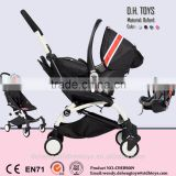 2016 Aluminium Alloy Material Baby Stroller 4 In 1 & High Quality & Low Price Baby Stroller