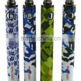 2014 new arrival e cig high capacity 1600mah ijoy twist battery at factory price
