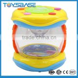 New products 2015 magical toy set,children plastic electric miniature drum
