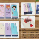 New popular product kids cardboard paper pencil box/paper pencil case suppliers and manufactures