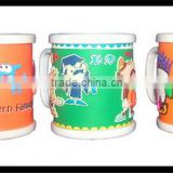 Top fashion colorful tumbler plastic office auto cup