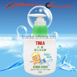 Hot sale gentle moisturizing baby body wash and shower gel 300ml