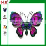 China wholesale high quality 20Cm big feather butterfly decorations