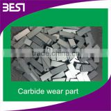 Best-003 excavator bucket attachment carbide plate