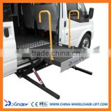 WL-UVL-700-S-1090 bridge scissors Auto mobile platform lift for the disabled On Electric wheelchairs for MVP Van
