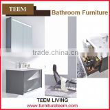 2016 new design modern high end quality soild wood concise manufacturer vintage bathroom vanity