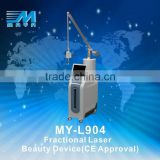 Treat Telangiectasis MY-L904 Radio Frequency CO2 10.6um Fractional Laser Tatoo Removal Machine( CE )
