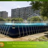 Above ground pvc frame pools/ steel frame pool