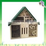 Garden Item FSC outdoor small pine cheap small wood bird house natural color made in China