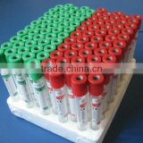 A vacutainer blood collection tube
