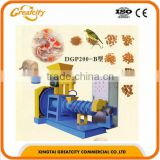 small type floating fish feed extruder pet food making machine small fish pellet machine